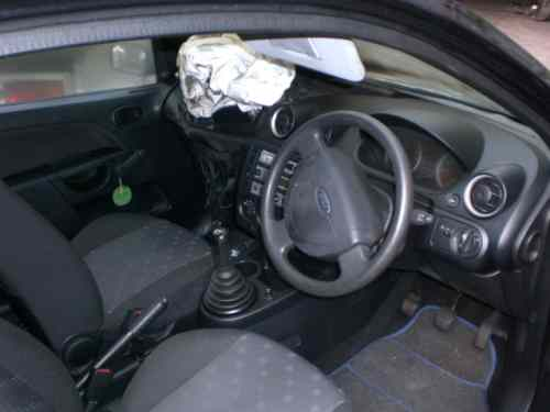 Ford Fiesta Door Front Drivers Side -  - Ford Fiesta 2005 Petrol 1.3L Manual 5 Speed 3 Door Manual Windows, Black